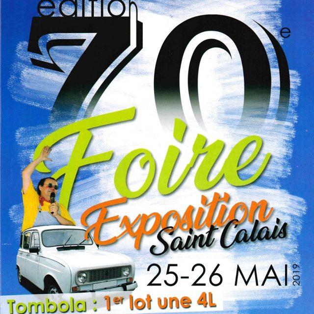 Foire exposition à Saint Calais