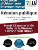 PLUi : Réunion publique à Bessé sur Braye