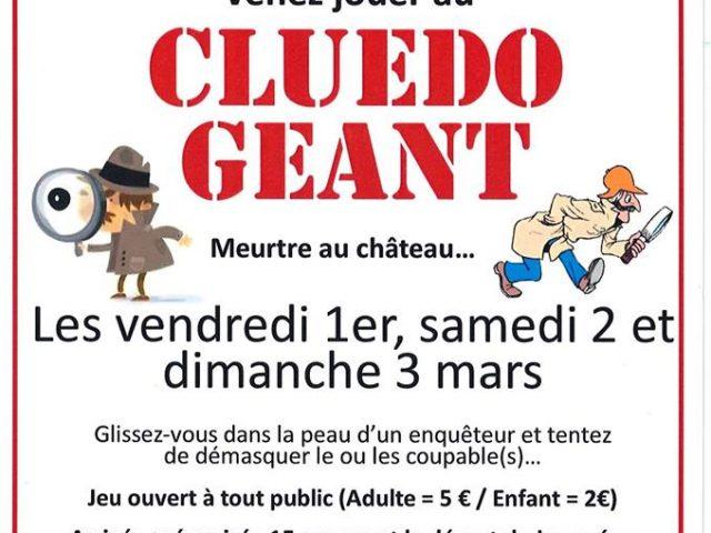 CLUEDO GEANT au château de Courtanvaux