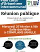 PLUi : réunion publique à Conflans sur Anille