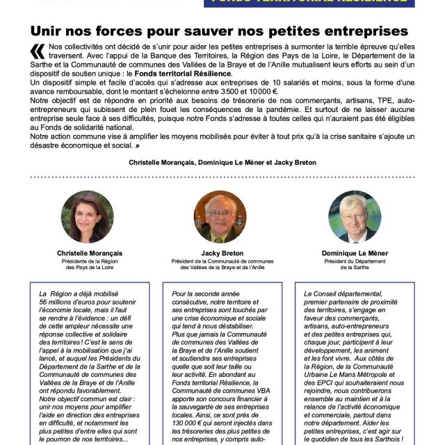 FONDS TERRITORIAL RESILIENCE