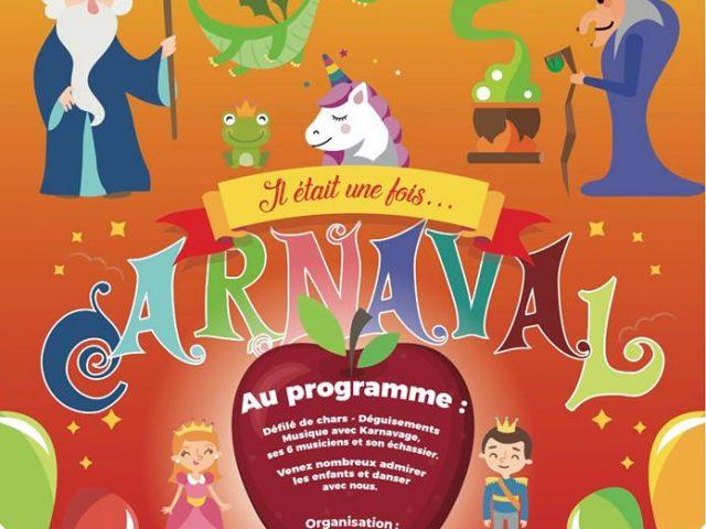 Carnaval des écoles à Saint Calais