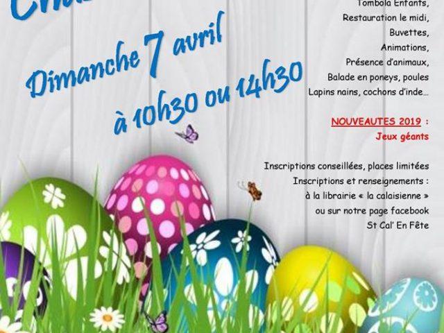 Chasse à l'œuf à Saint Calais