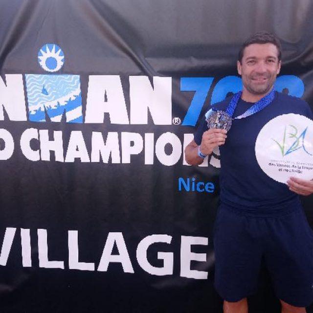 David BENARD – Ambassadeur VBA Finisher de l'IRONMAN 2019 à Nice