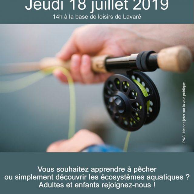 Initiation pêche à Lavaré