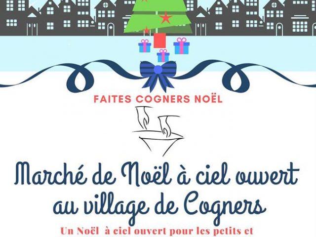 Marché de Noël à Cogners
