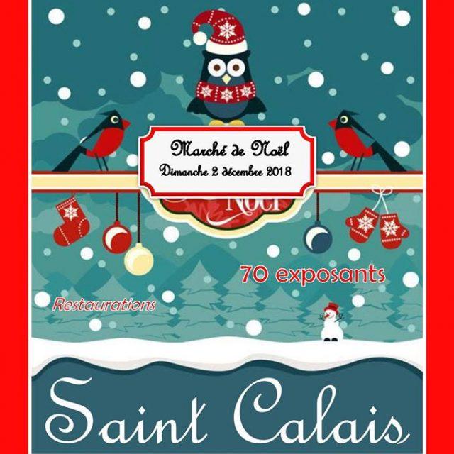 Marché de Noël à Saint Calais