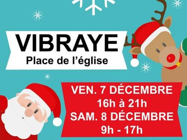 Marché de Noël à Vibraye