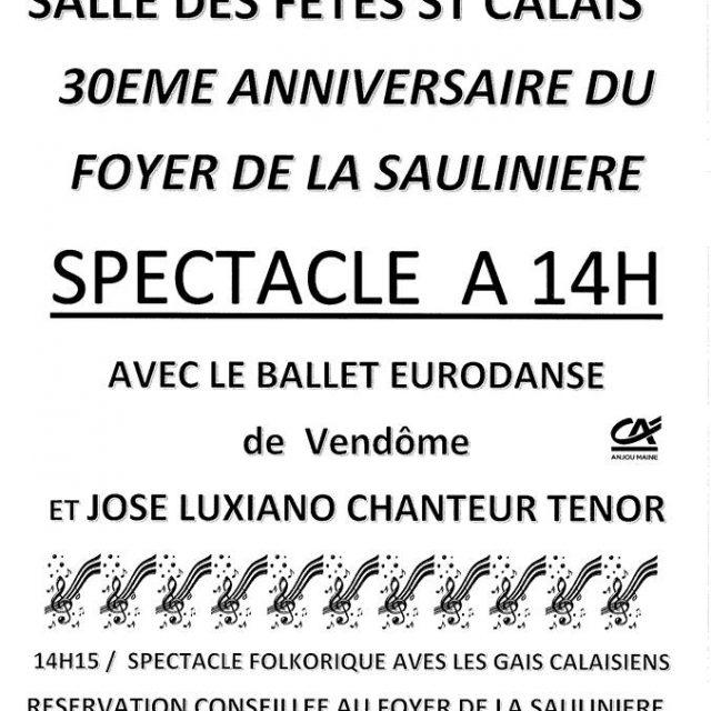 Spectacle à Saint Calais