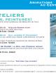 Ateliers dessins, peintures ! A Saint Calais
