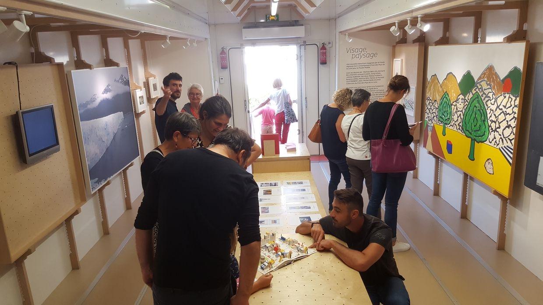 visite de l'exposition «Visage, paysage»MuMo