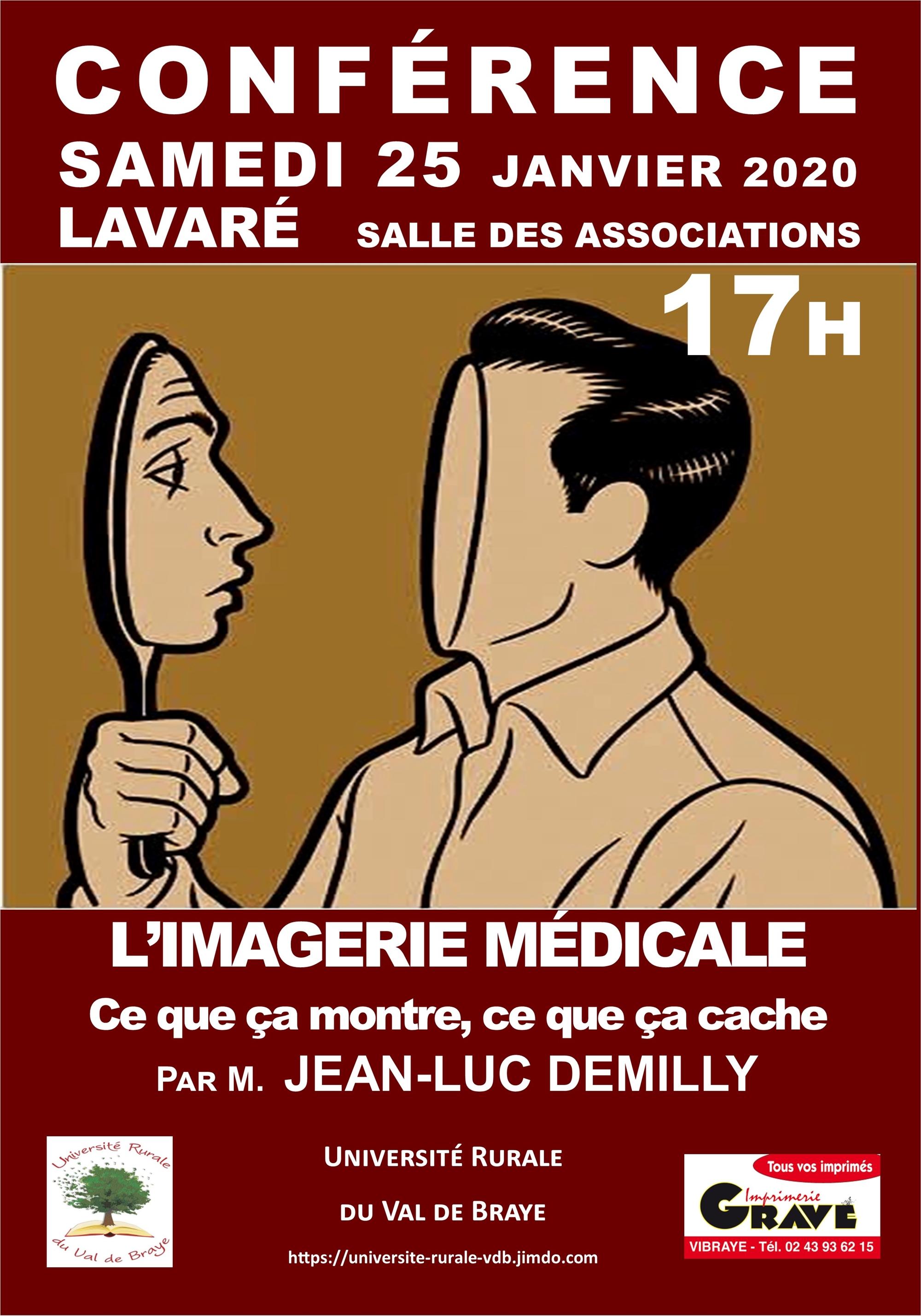 « L'imagerie médicale » par Jean-Luc Demilly