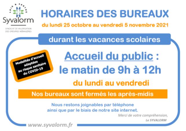 Bureaux Syvalorm de Saint-Calais et Montoire