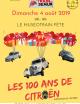 100 ans de citroën au muséotrain