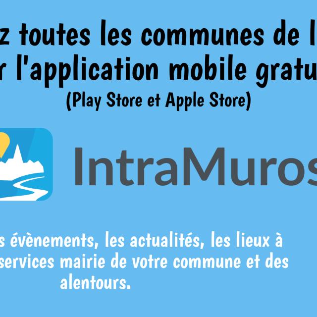 Une application mobile gratuite pour suivre toutes les actualités du territoire !
