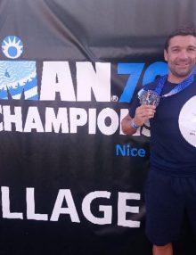 Interview : Questions à David BENARD ambassadeur VBA au championnat du monde Half-Ironman