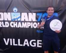 David BENARD – Ambassadeur VBA Finisher de l'IRONMAN 2019 à Nice