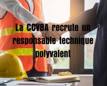 Responsable technique polyvalent à la CCVBA