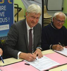 Signature du nouveau contrat territoire innovant